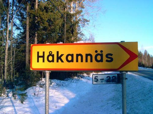 Håkannäs-Schild