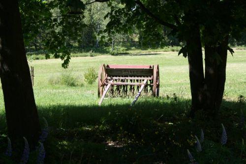 """Die alte Sähmaschine von """"Salix"""""""